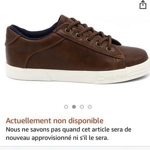 Nautica manifest brown sneakers